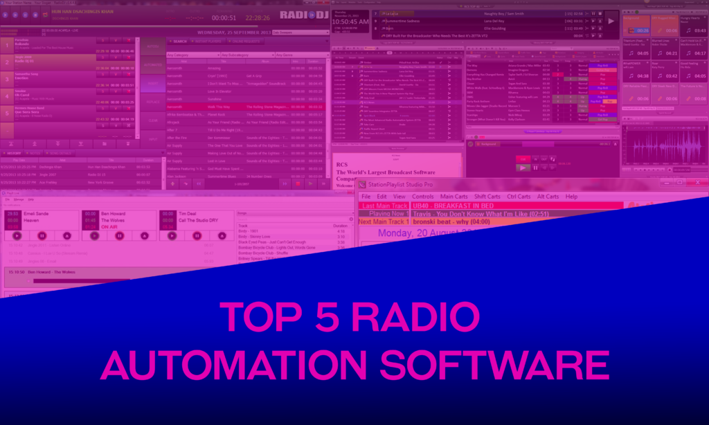 Top 5 radio automation software
